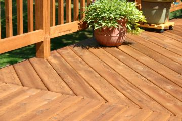 Deck building in Waldo by RMS Painting Inc