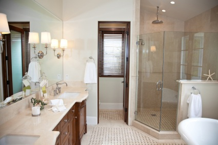 Shirley bathroom remodel by RMS Painting Inc