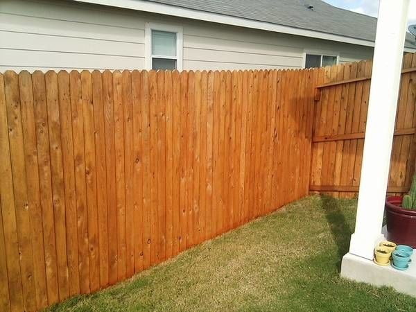Fence Staining in Bloomington, IL (1)