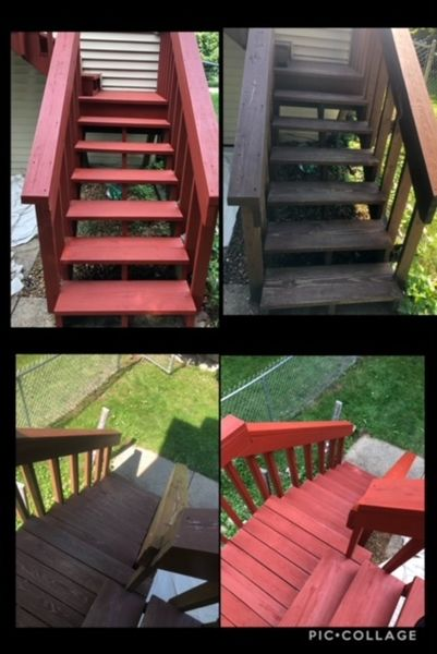 Before & After Deck Staining in Bloomington, IL (9)